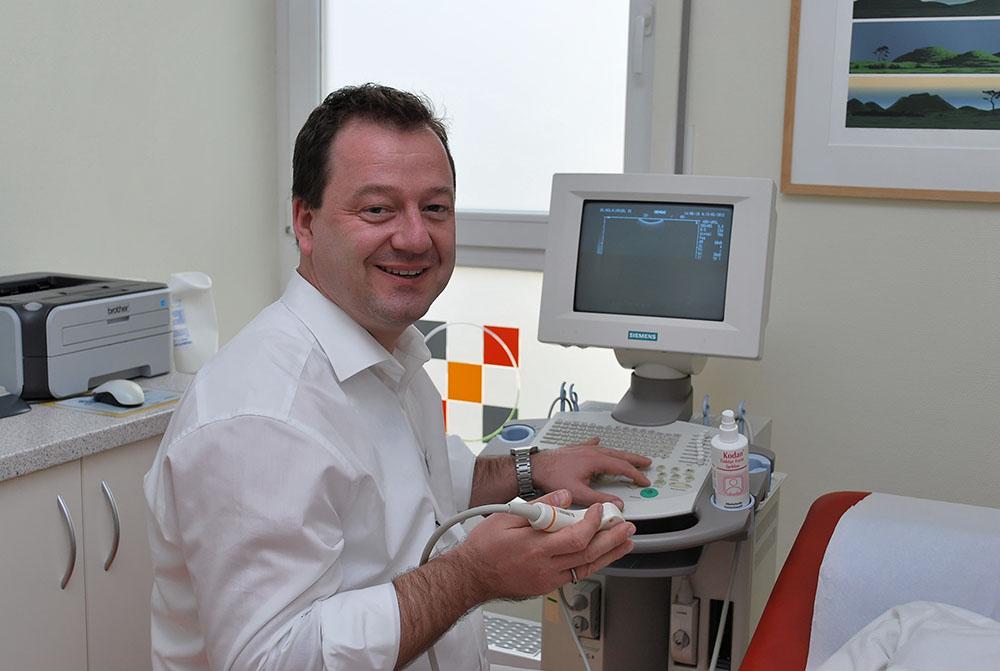 Urologe Dr. Krusel, Ultraschall